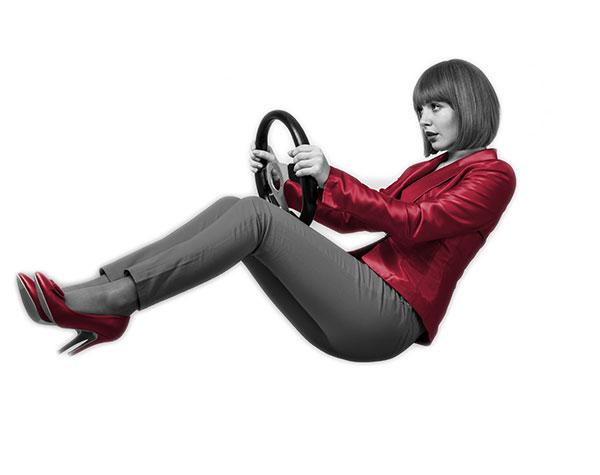 Fleet management cgff femme volant
